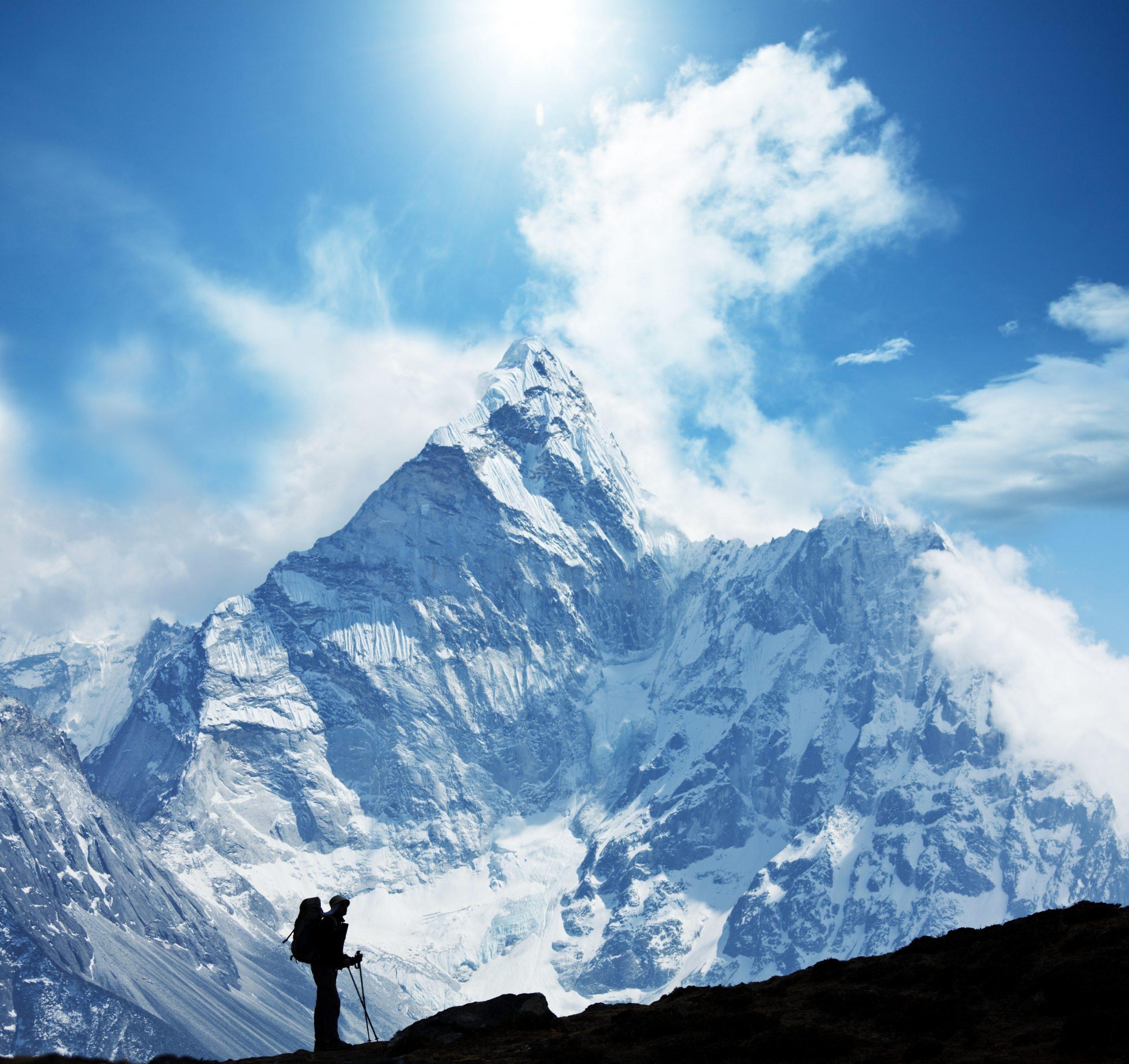 Entscheidungen so groß und schwer wie der Mount Everest Michaela Forthuber Blog #Entscheidungsarchitektin