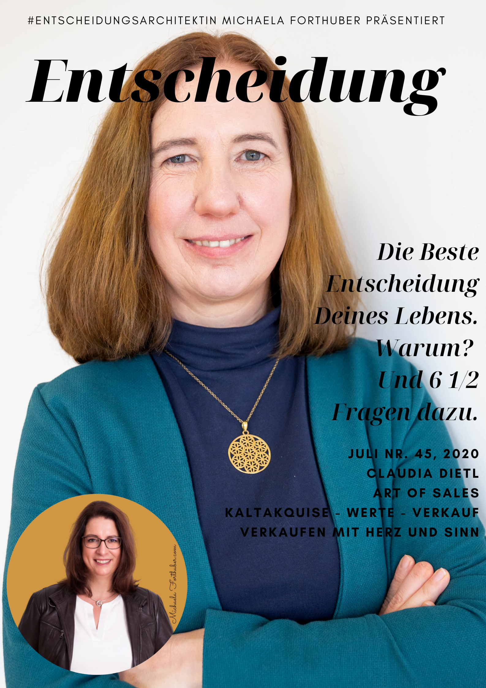 Blog Interview Entscheiden Cover Michaela Forthuber #Entscheidungsarchitektin